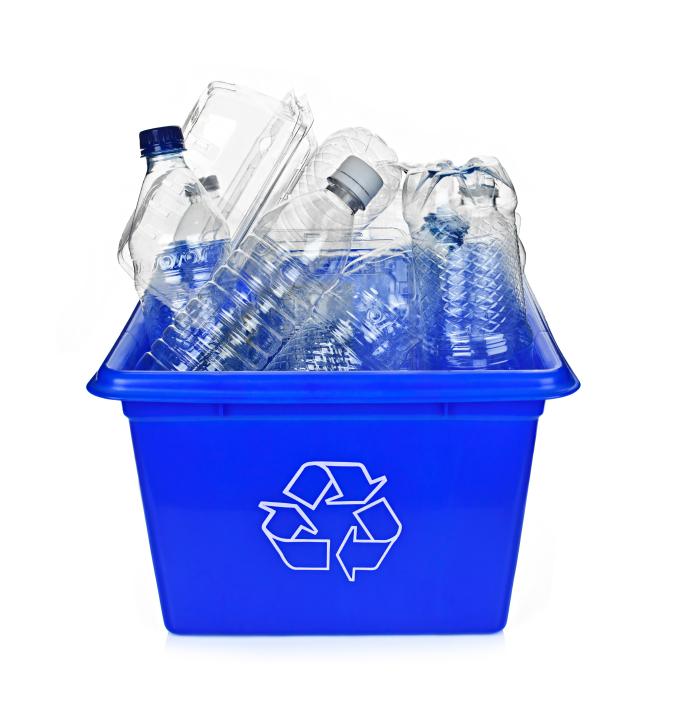 Bouteilles à recycler