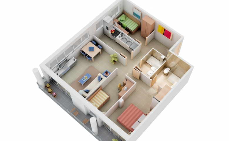 Small Apartment Plans C De Maison