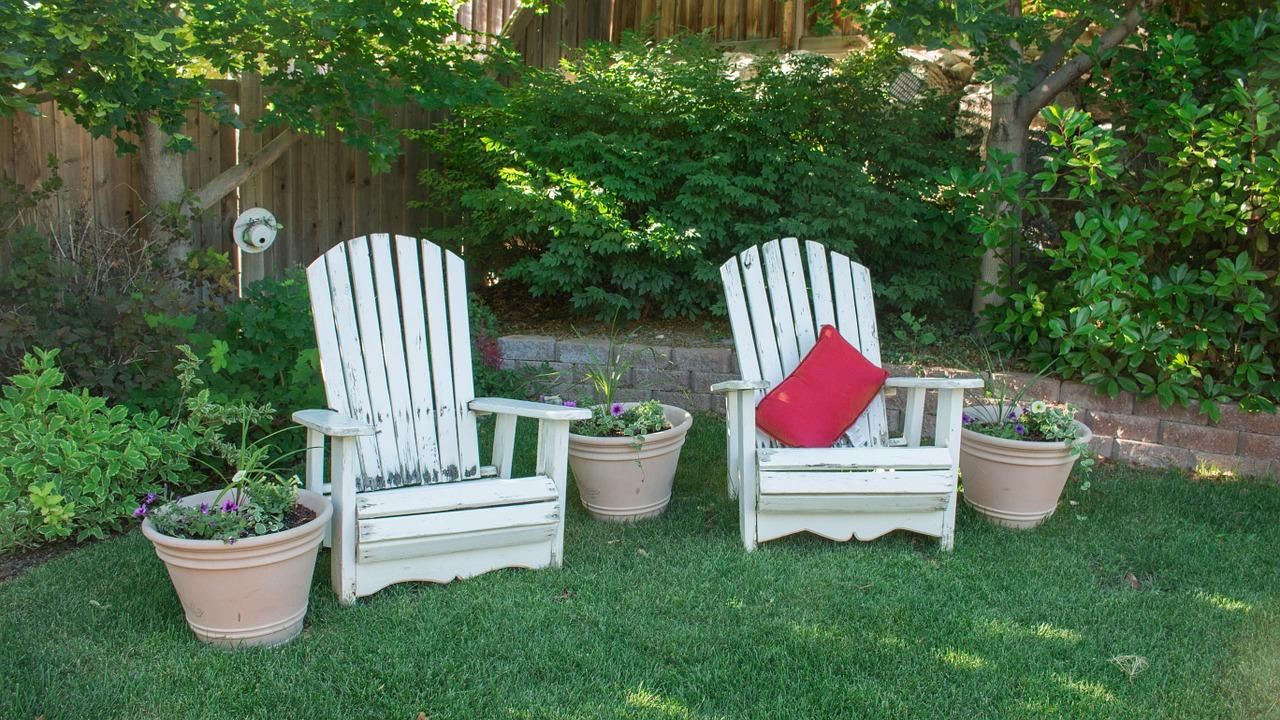 du mobilier de jardin