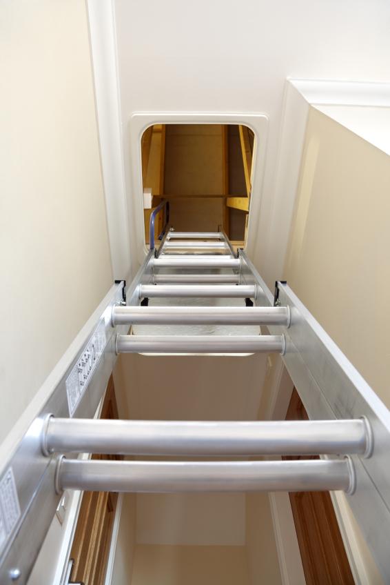 escalier escamotable en acier