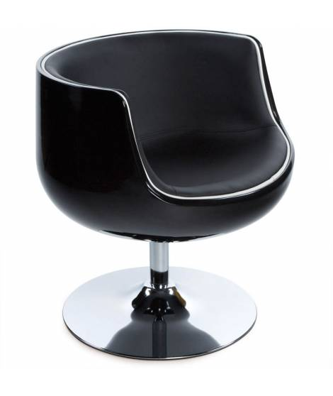 Fauteuil noir