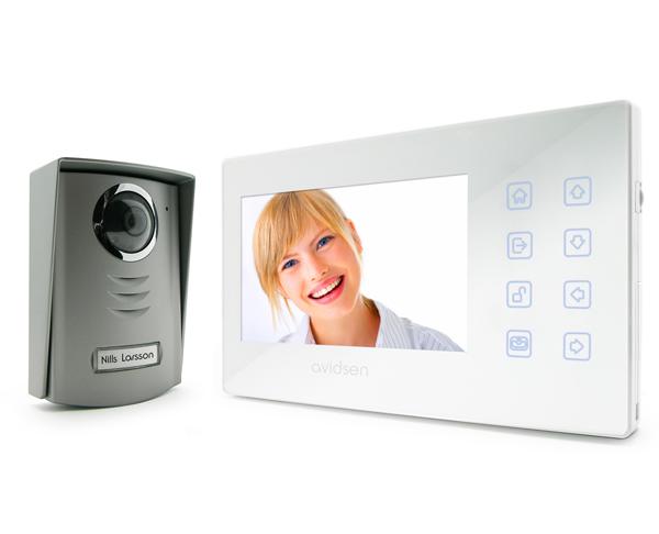 Interphone vidéo sécurité