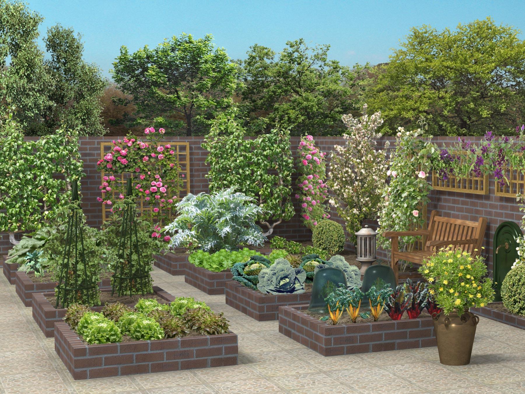 Cr ez vous un jardin tendance et original pour l hiver for Pinterest cuisine de jardin