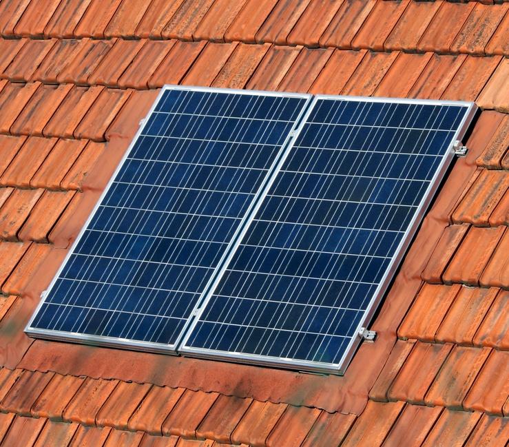 Les panneaux photovoltaïques sur la toiture