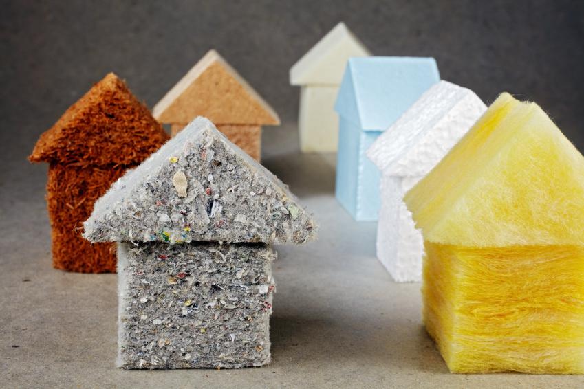 maisons en matériau isolants