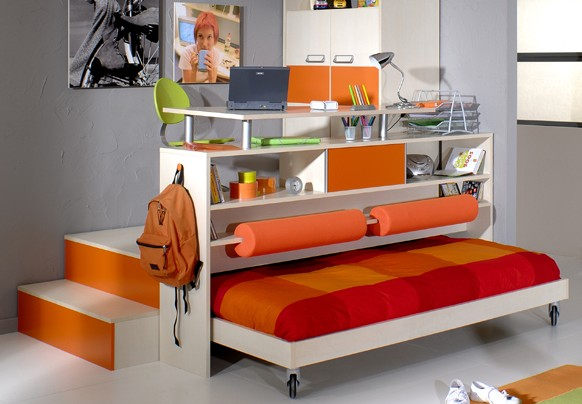 petite chambre aménagée