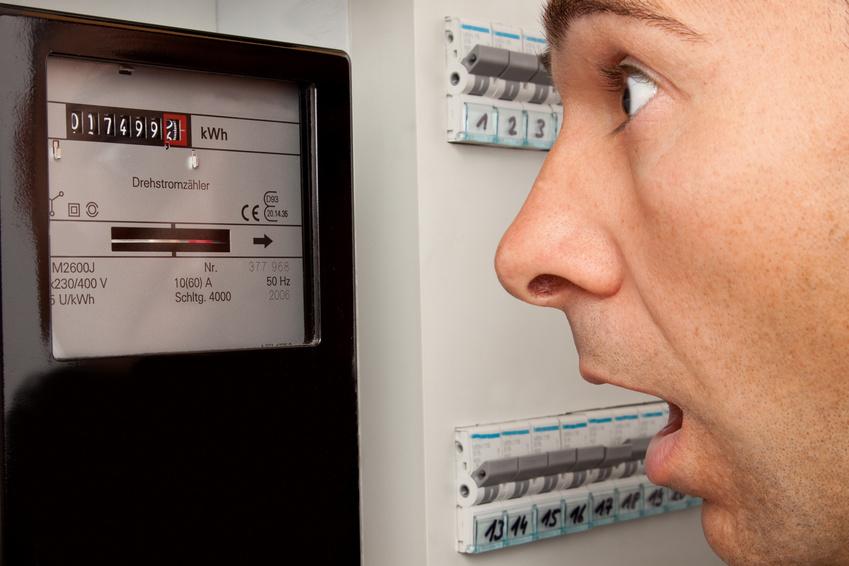 Surconsommation d'électricité
