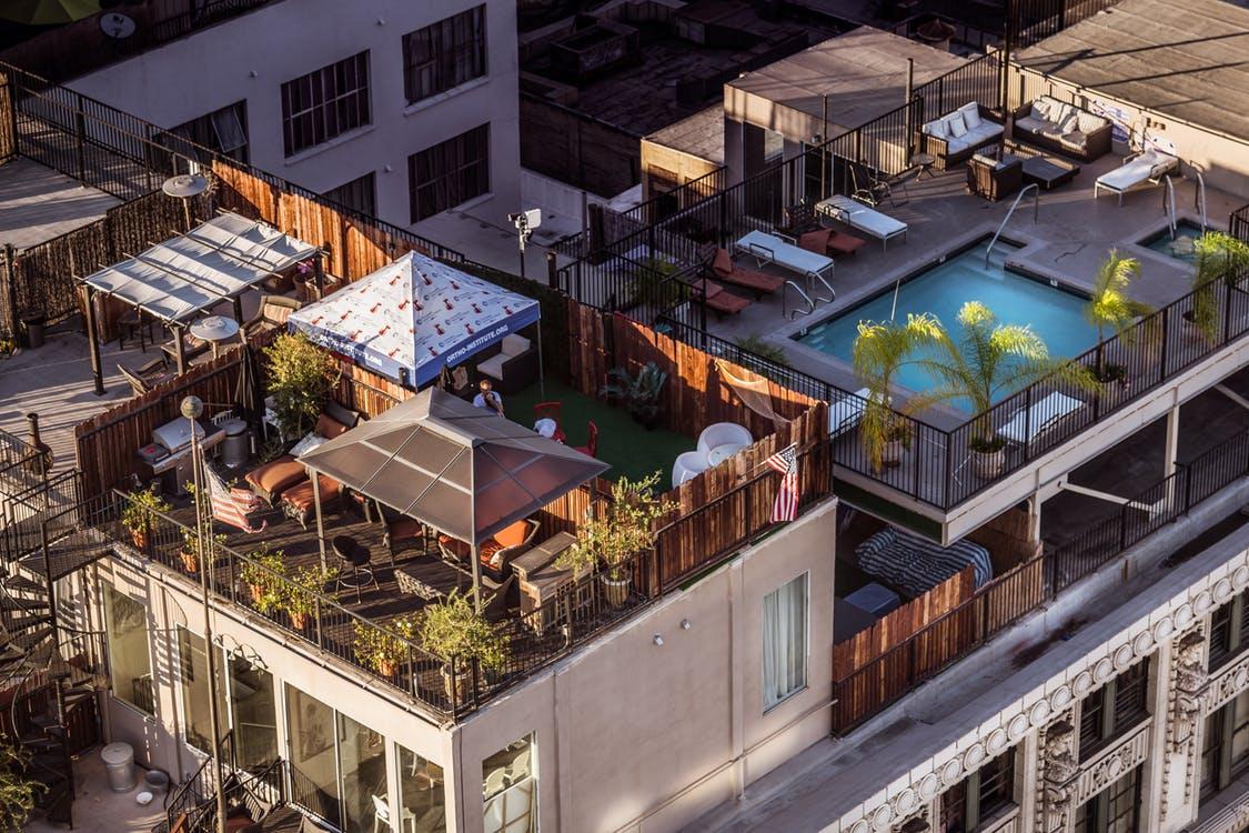 toit terrasse immeuble